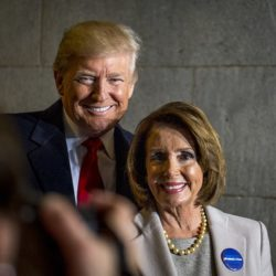 Donlad Trump and Nancy Pelosi